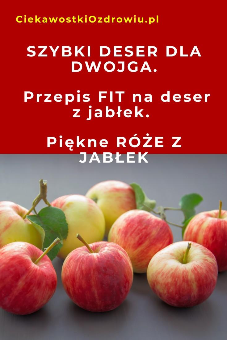 CiekawostkiOzdrowiu.pl-jabłka-deser-roze-z-jablek-przepis-domowy