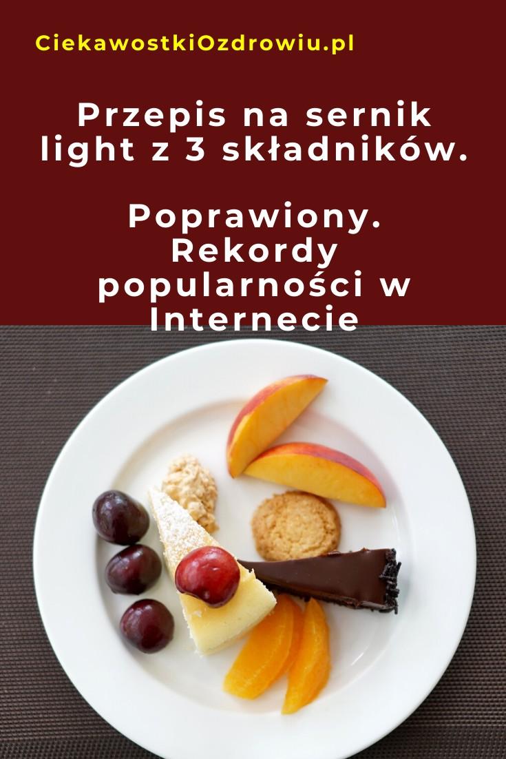 CiekawostkiOzdrowiu.pl-sernik-3-skladniki-przepis-popularny-poprawiony